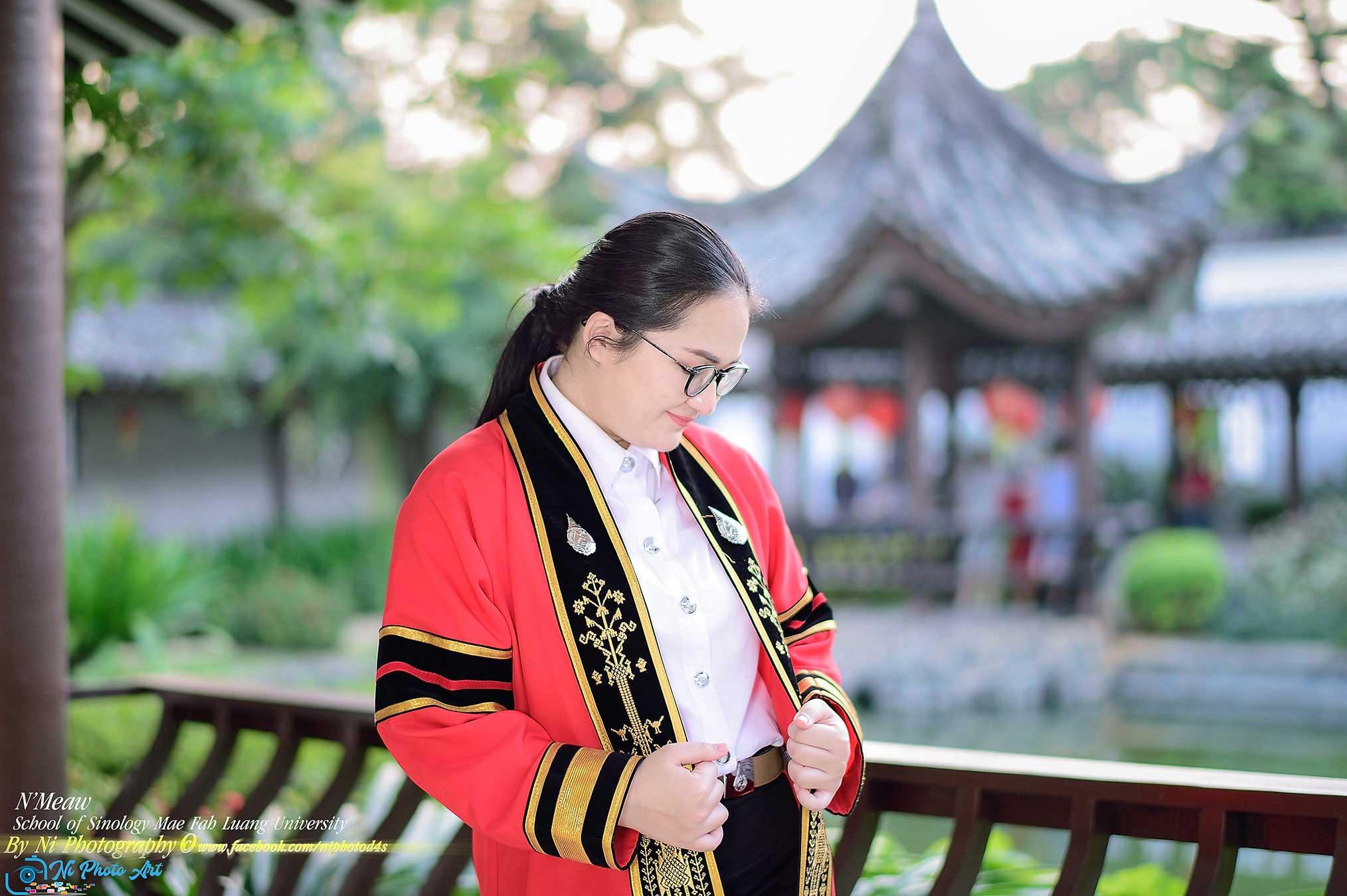 น้องเหมียว สำนักวิชาจีน ม.แม่ฟ้าหลวง